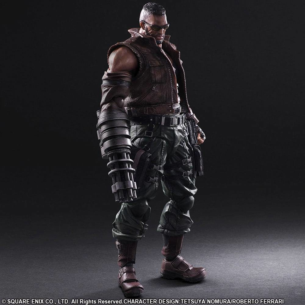 Figurine Barret Wallace ffvii 2