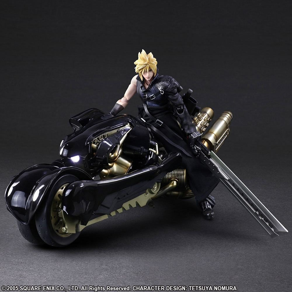 Figurine cloud moto